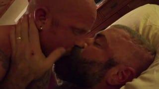 Hottest Muscle Bear Angell in Ass Bustin Brock Rustin